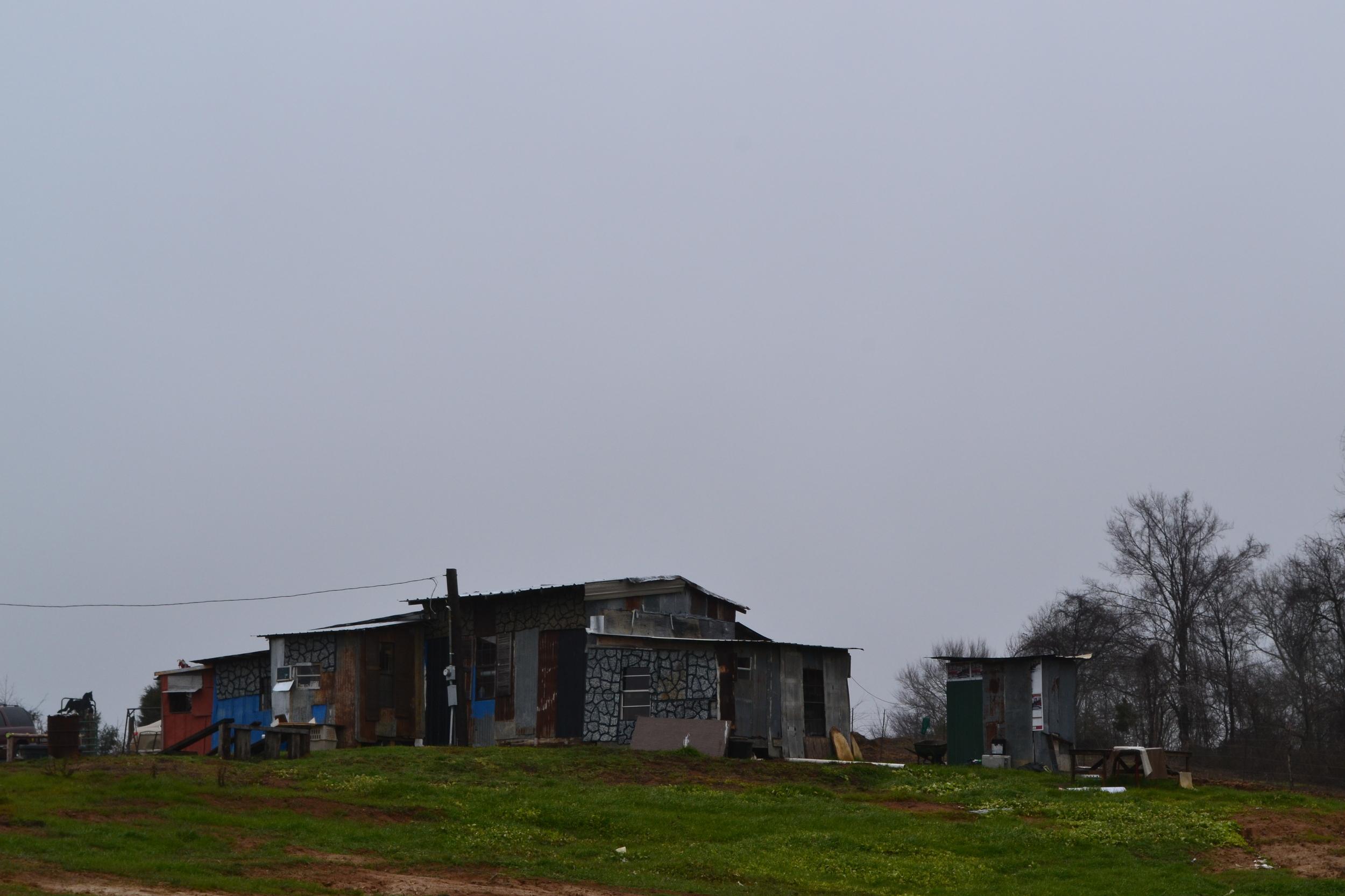 The home of Mississippi artist Joe Wrenn.