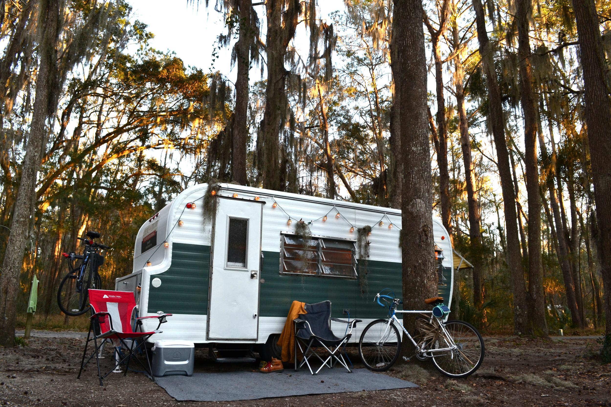 Elsie at Skidaway Island State Park near Savannah, GA.
