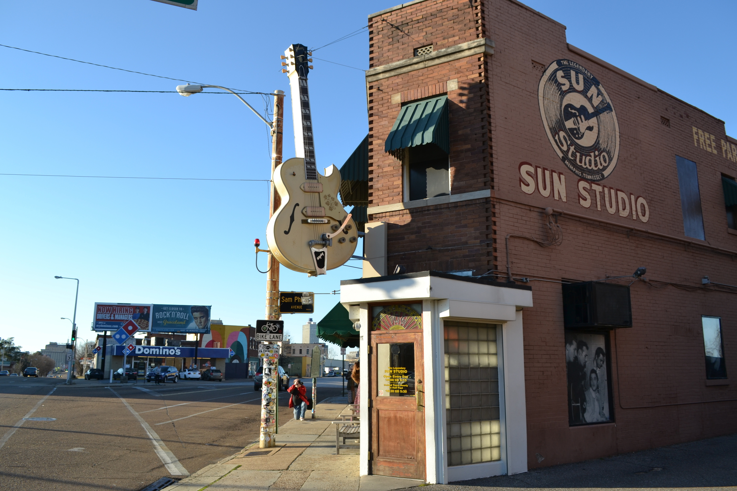 Sun Studio in Memphis, TN. The birthplace of Rock N' Roll.