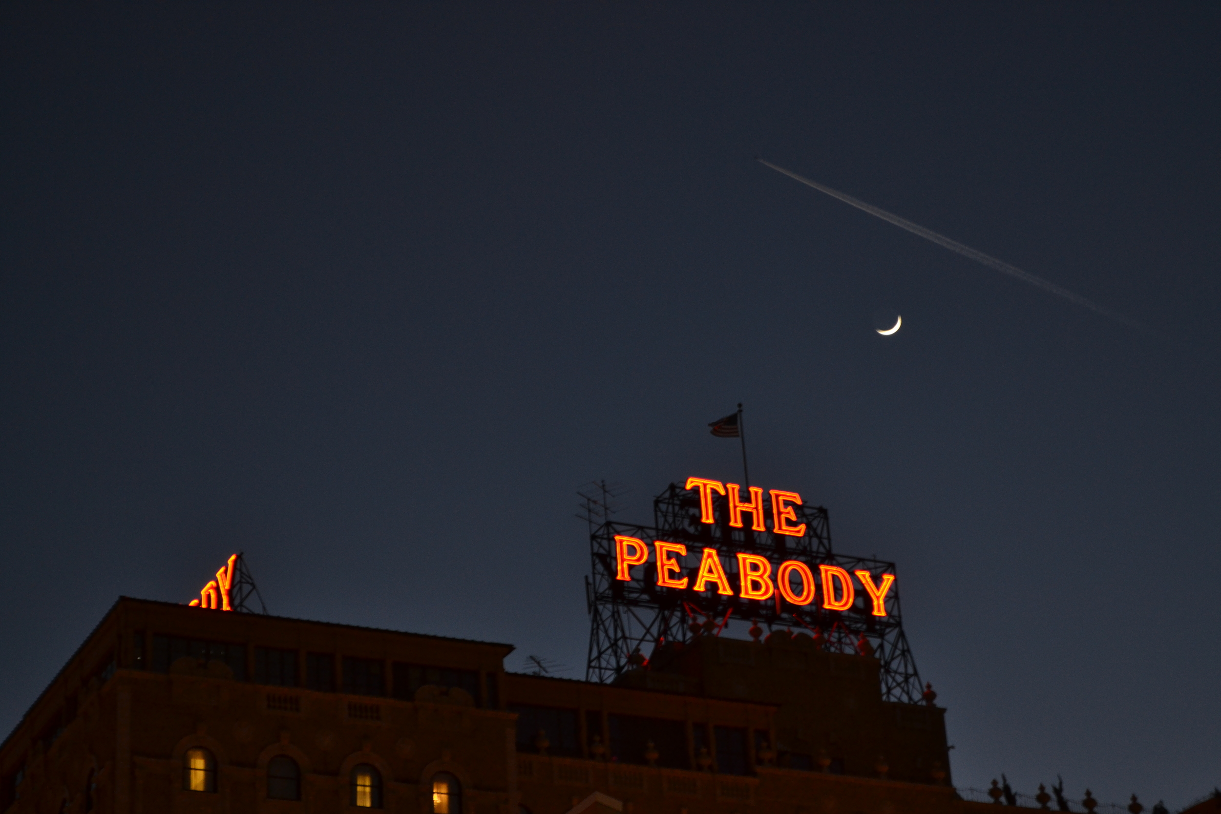 The grand Peabody Hotel in downtown Memphis, TN.