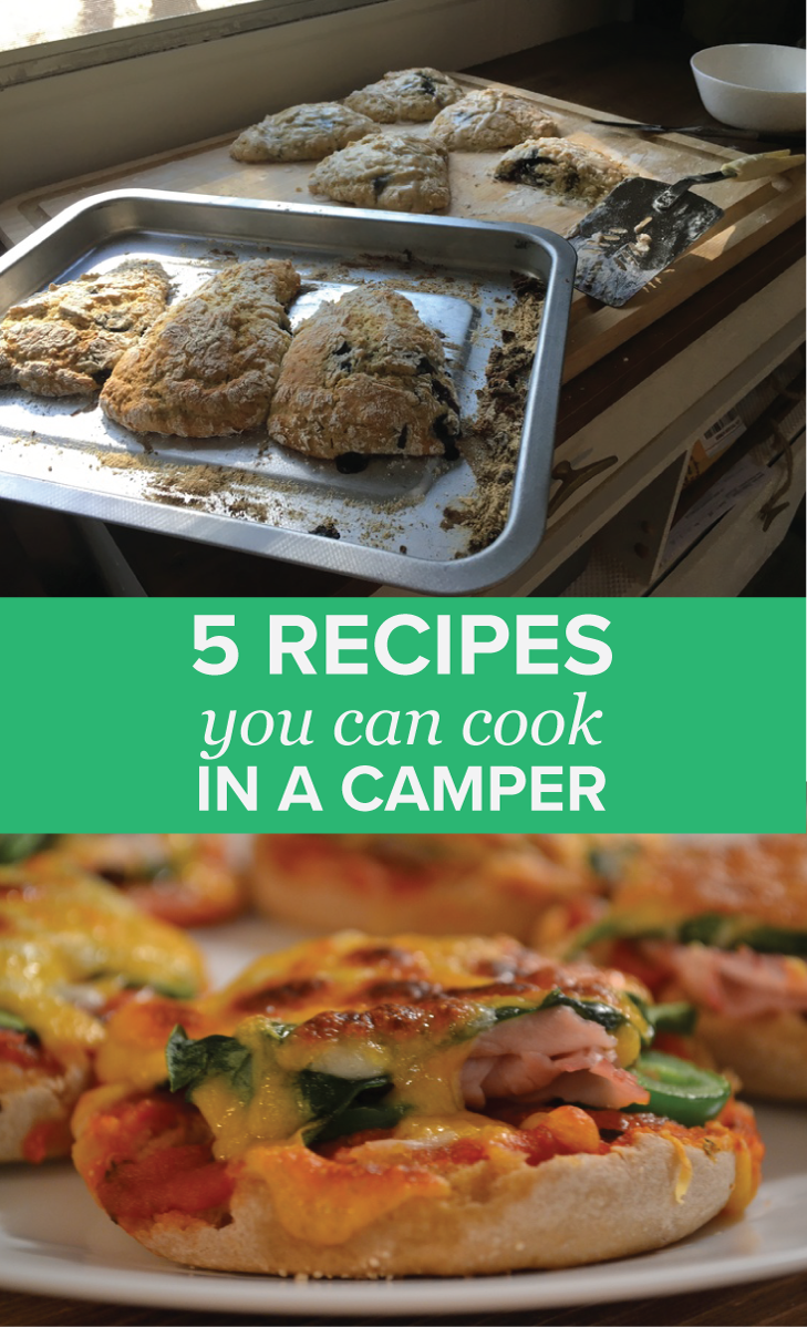 5 recipes you can cook in camper | Local Color XC