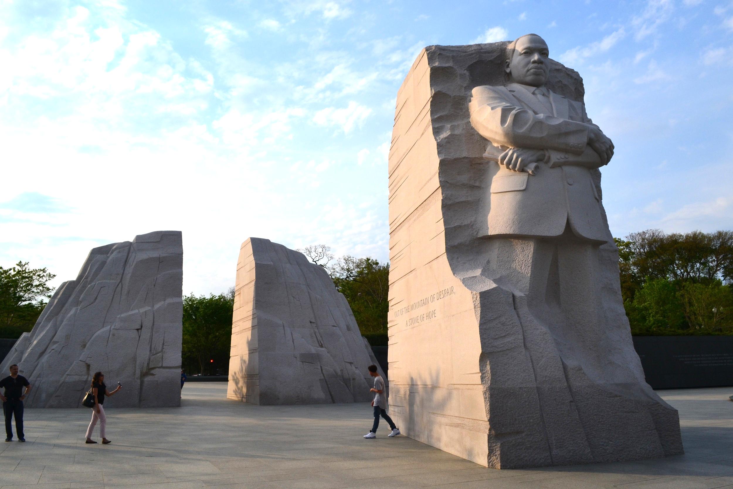 MLK Jr. Memorial.