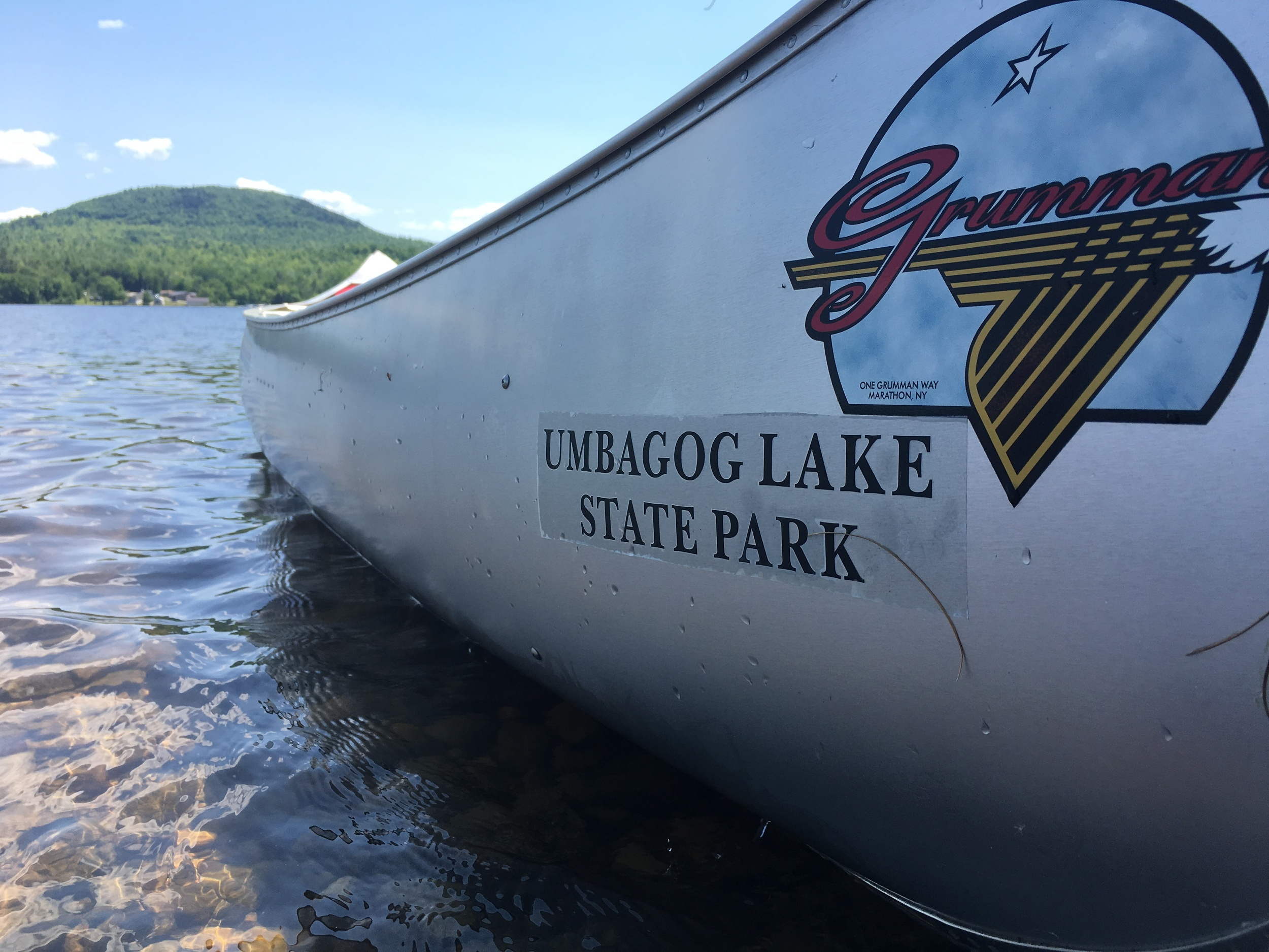 We rented a canoe for 1/2 day at Umbagog Lake -- well worth it to explore this 12-mile long stretch of pristine lake swimming, fishing and boating.