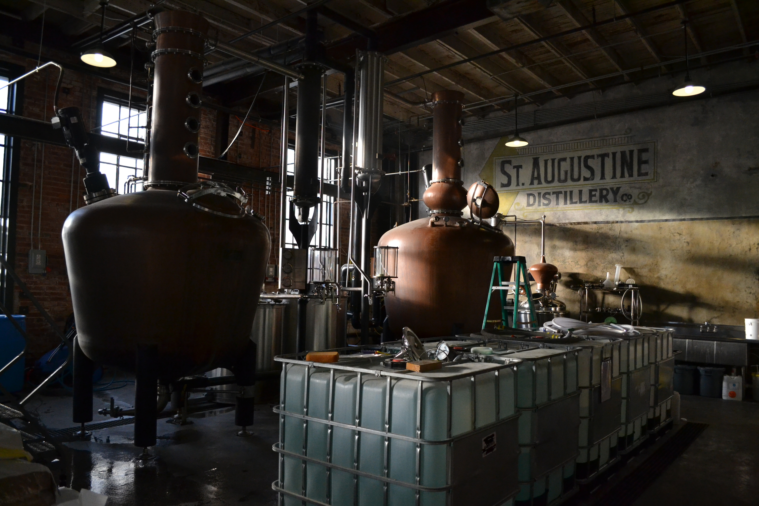 The St. Augustine Distillery is a must-see in Florida.