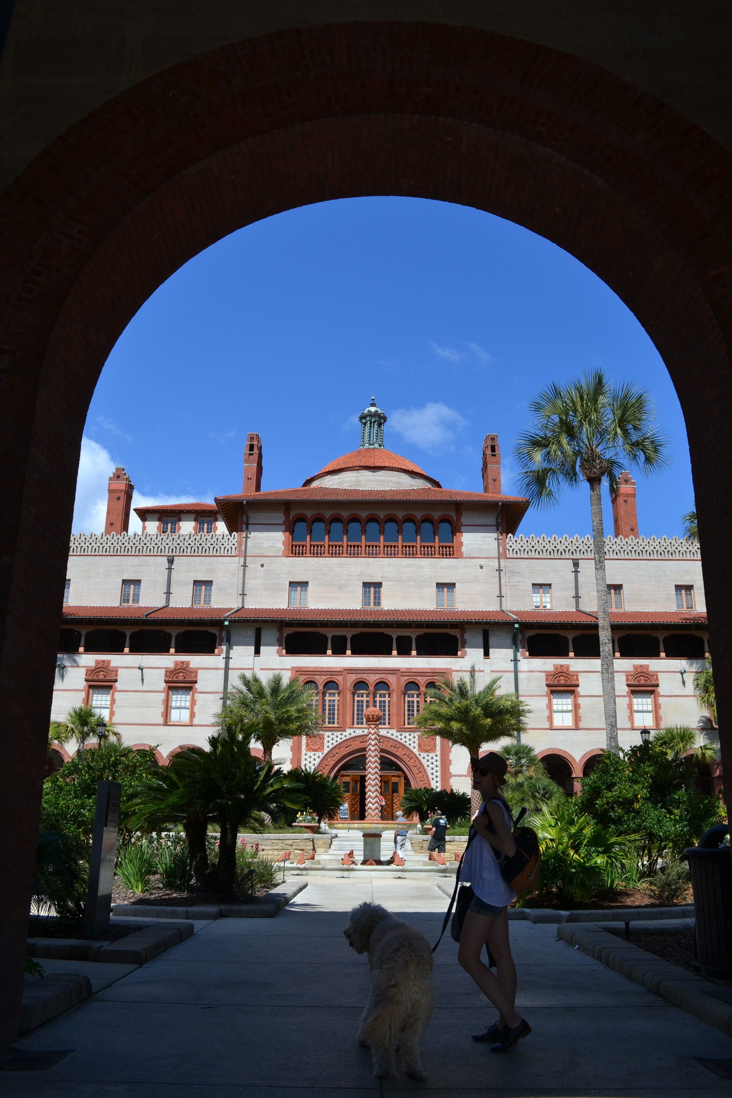 This is one of the main buildings on Flagler's campus. Crazy, right?!