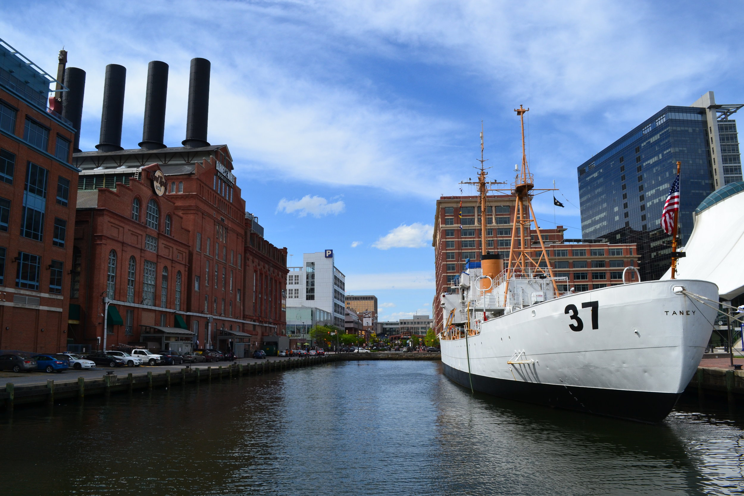 Inner Harbor is a favorite spot for locals and tourists.