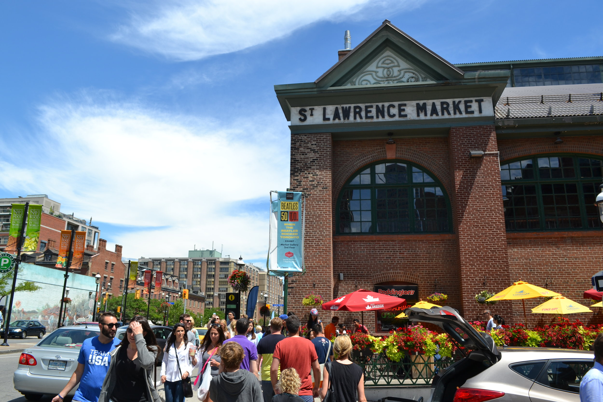 The St. Lawrence Market in Toronto.
