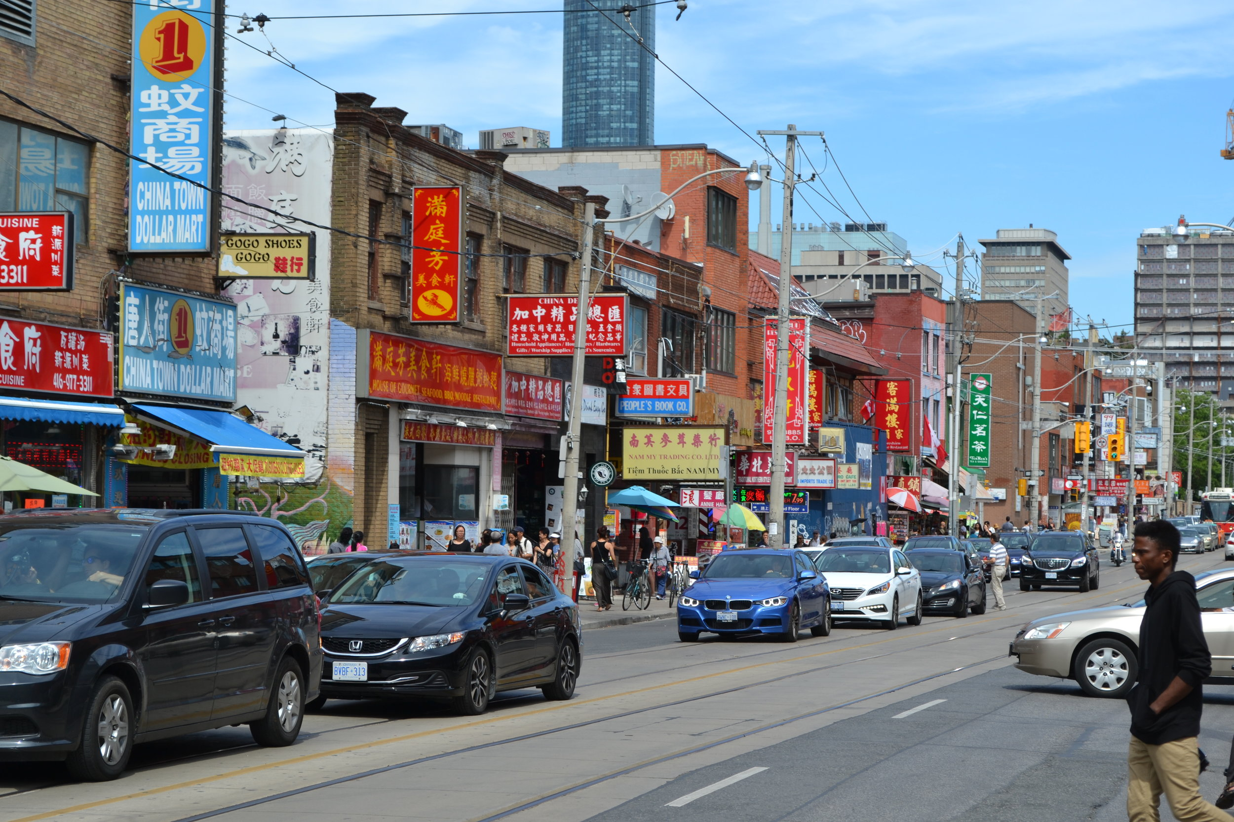China Town in Toronto.