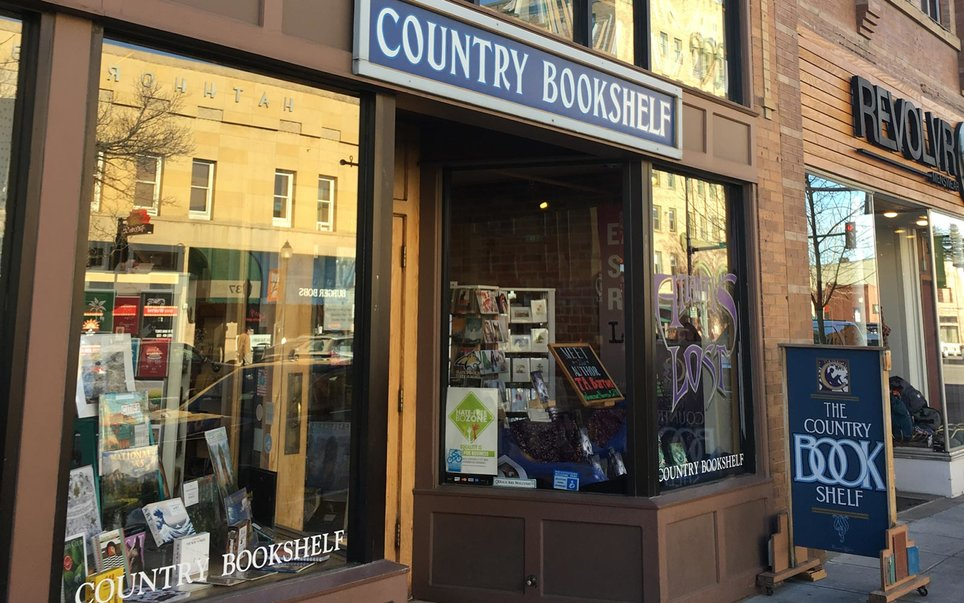 The Country Bookshelf in Bozeman, MT