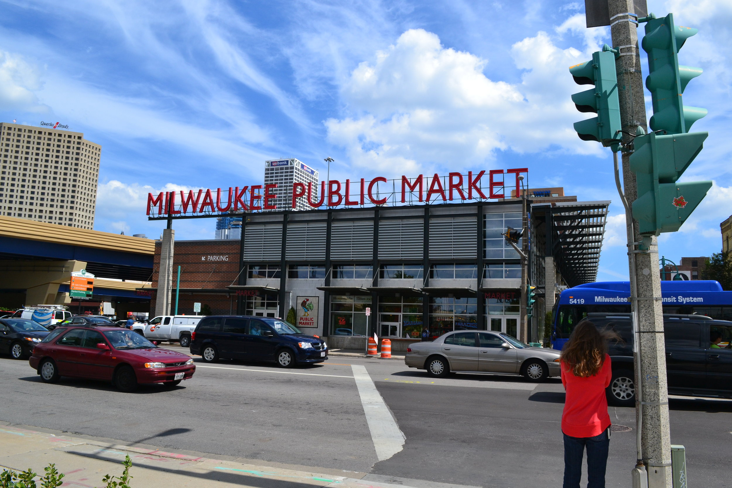 Milwaukee's Public Market. Home to good food, cool local shops, brews and more!