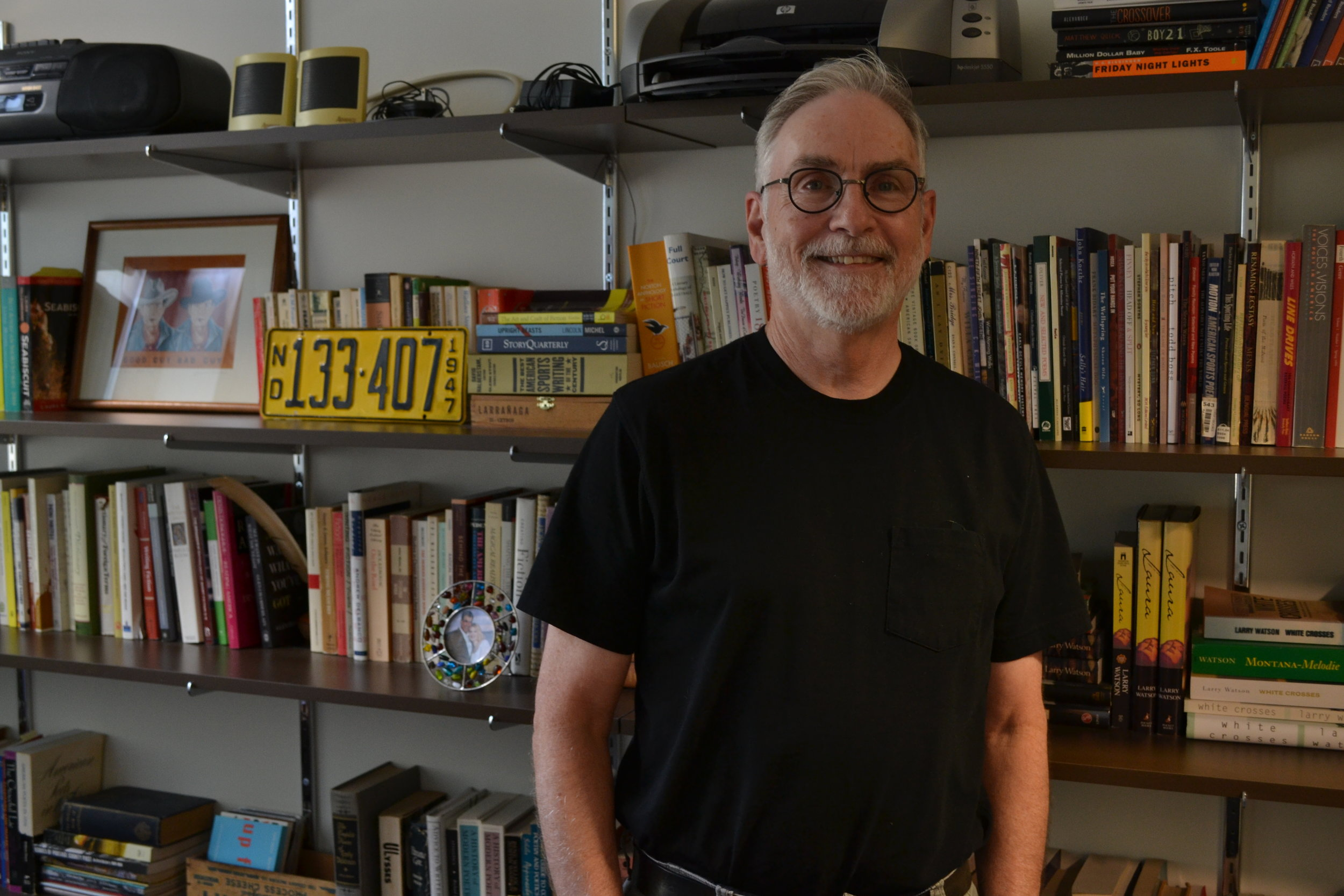 Marquette professor and author Larry Watson.