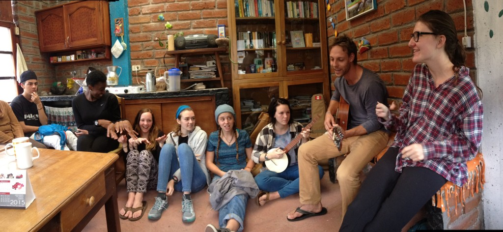 Learning some group songs...