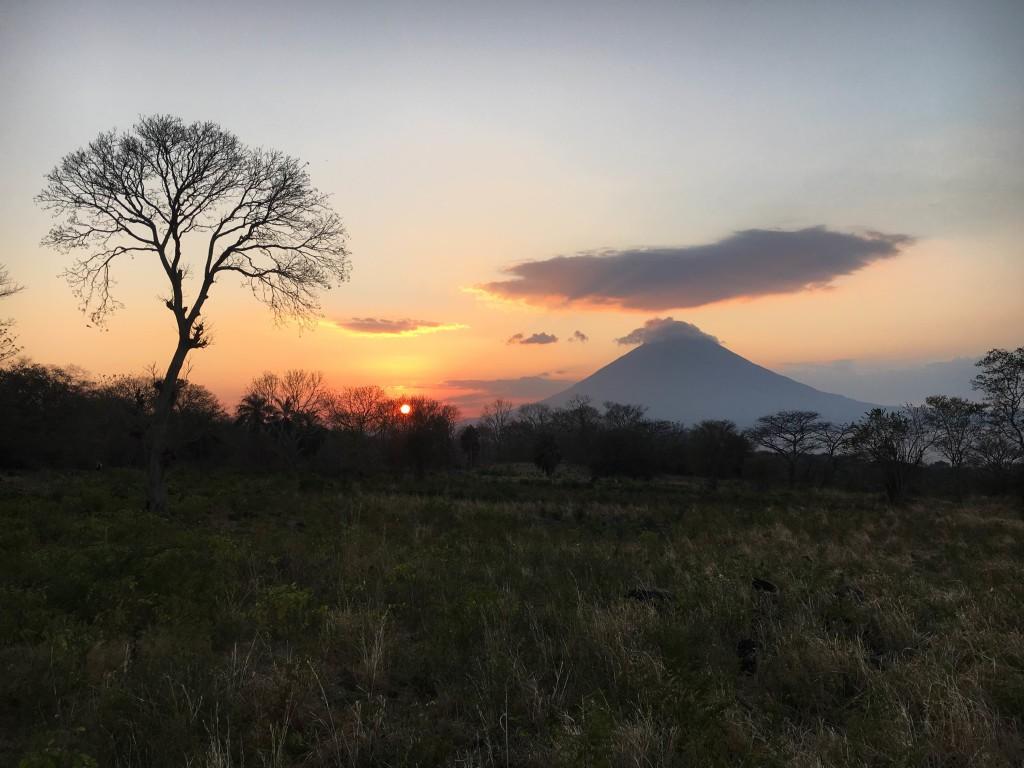 Sunset at Ometepe