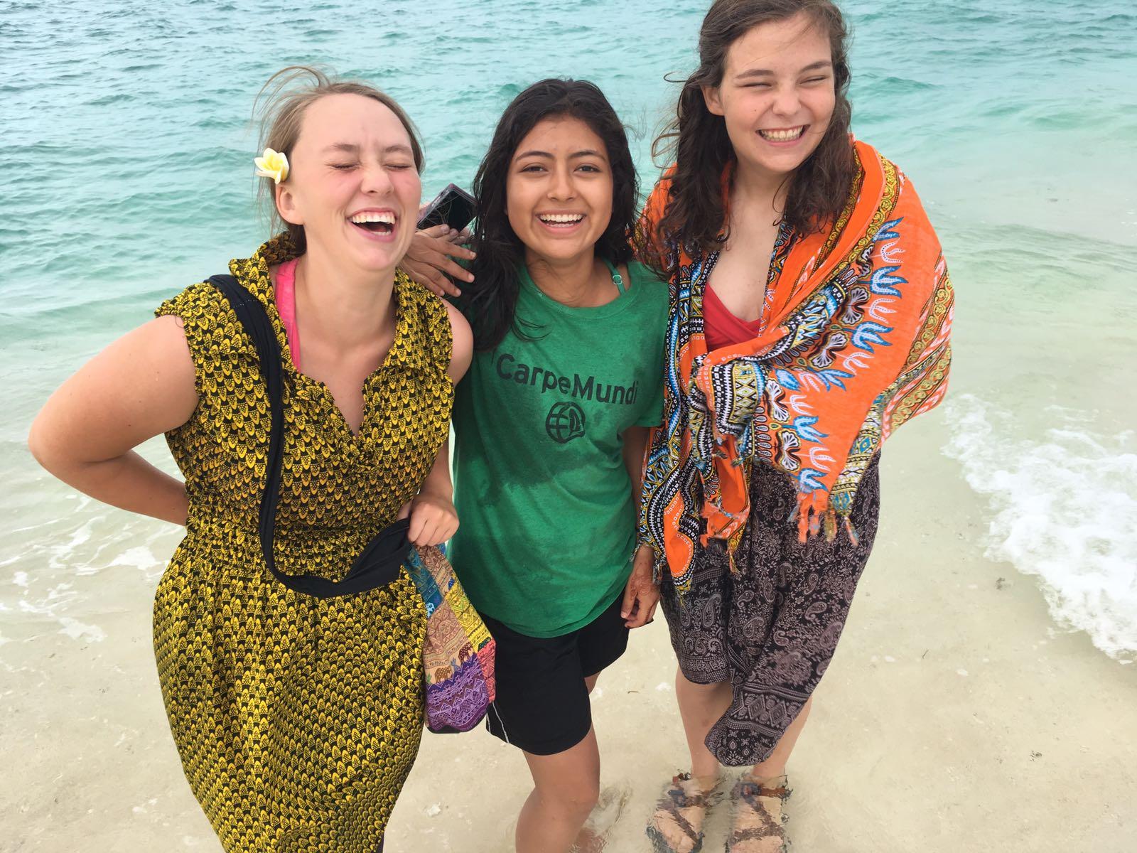 Moreh and Nanci in Zanzibar