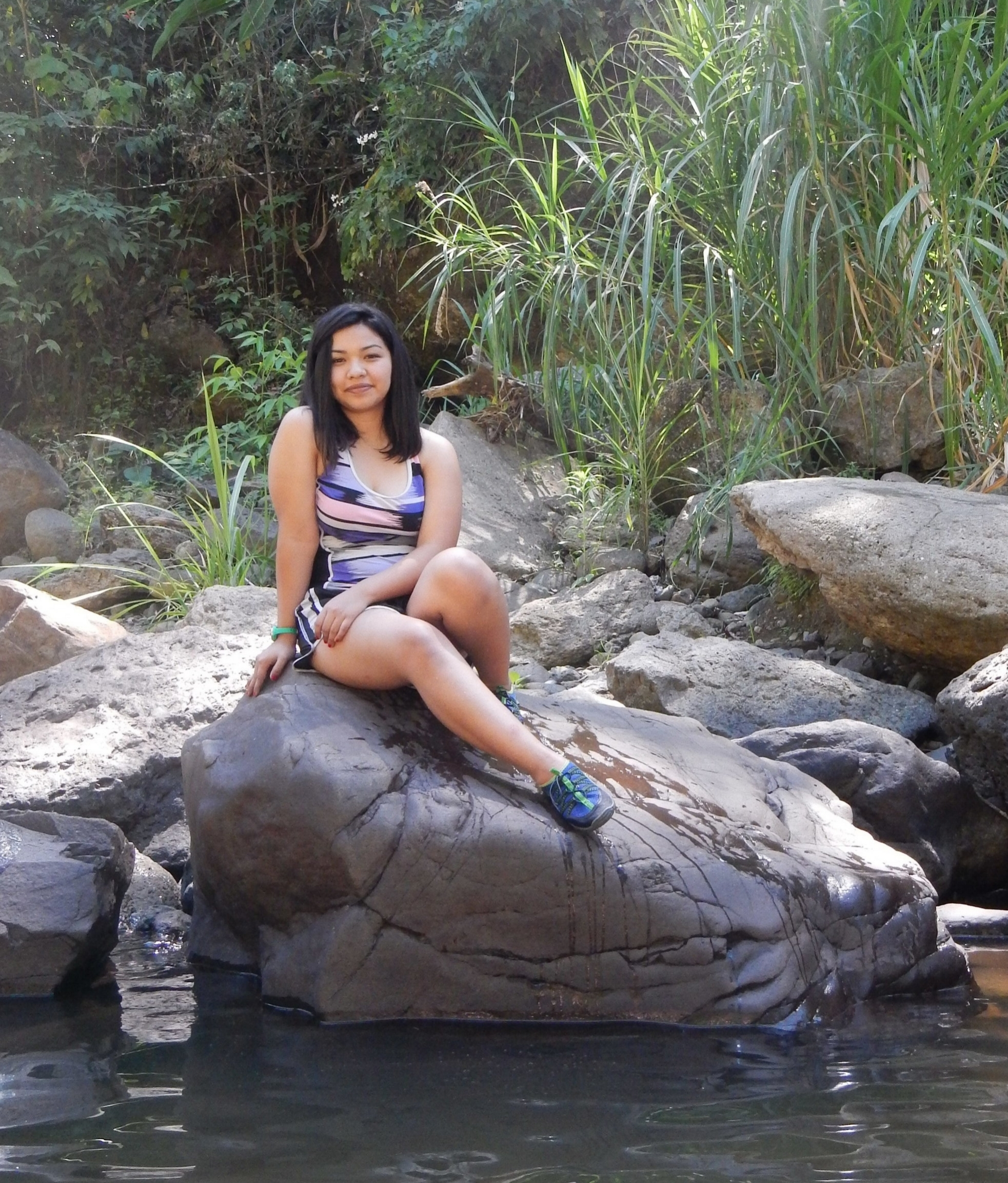 Arisbeth in Nicaragua.