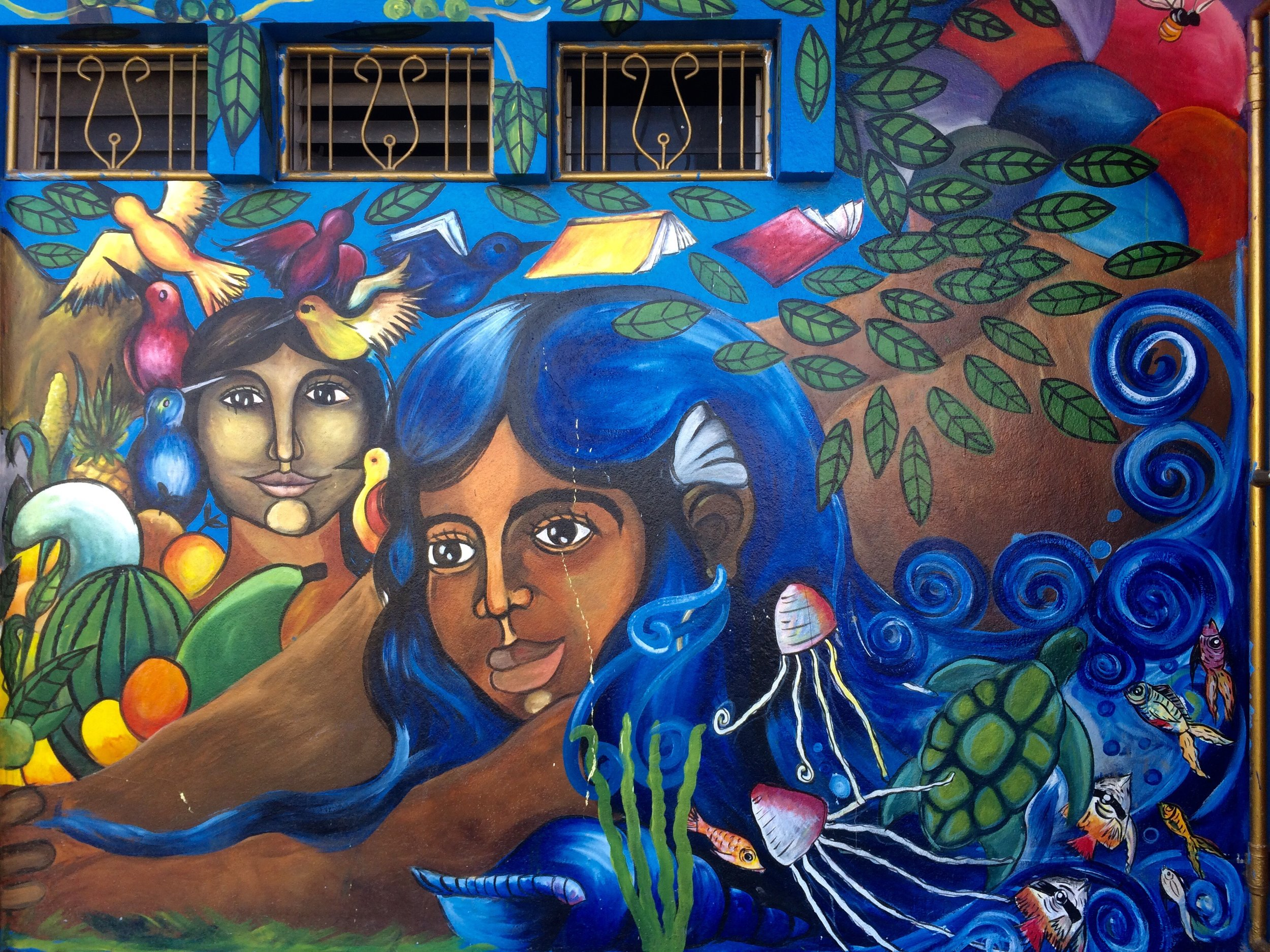 One of beautiful Esteli's many murals.