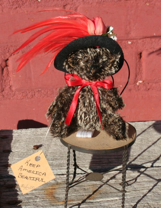 Ladybird. Keep America beautiful. Wear nicer hats.