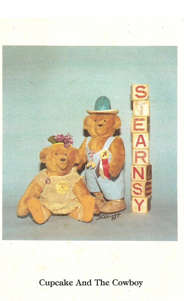 Stearnsy Bear Postcard. 1989.