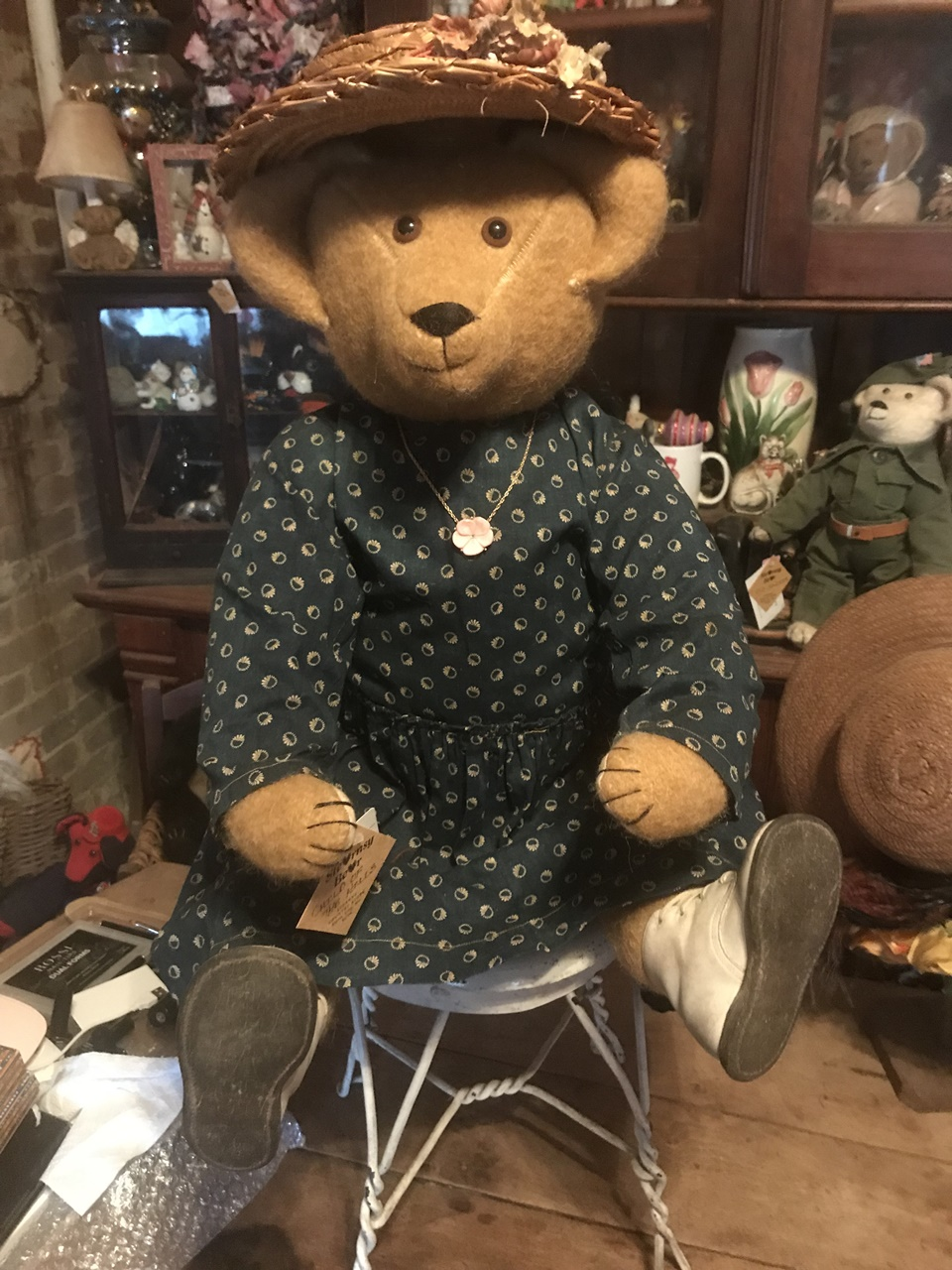 Hill Country Girl. $325 + shipping. 417-285-3201.  stearnsybears@gmail.com