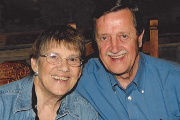 Helen and Al Waterson have supported Grace Children's Hospital monthly since its beginnings in 1967.