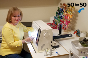 Rev. June Franck joined in with her own 50for50 campaign to ensure Grace Children's Hospital's bright future!