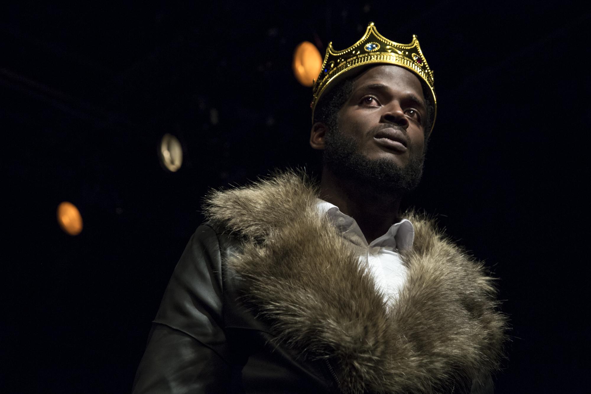 Jak Watson as King Henry IV