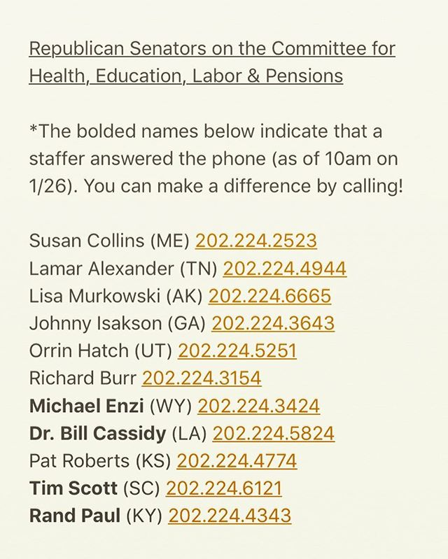 I made some calls this morning.  #resist