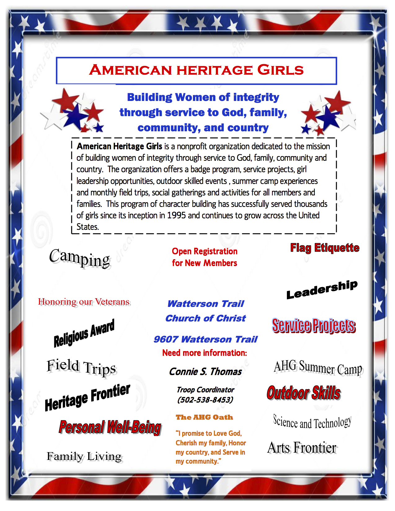 Click to Download Informational Flyer