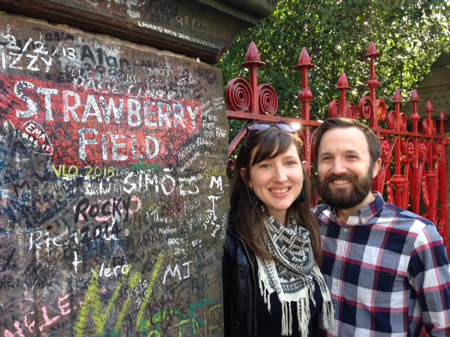 Strawberry fields forever, with Judson.