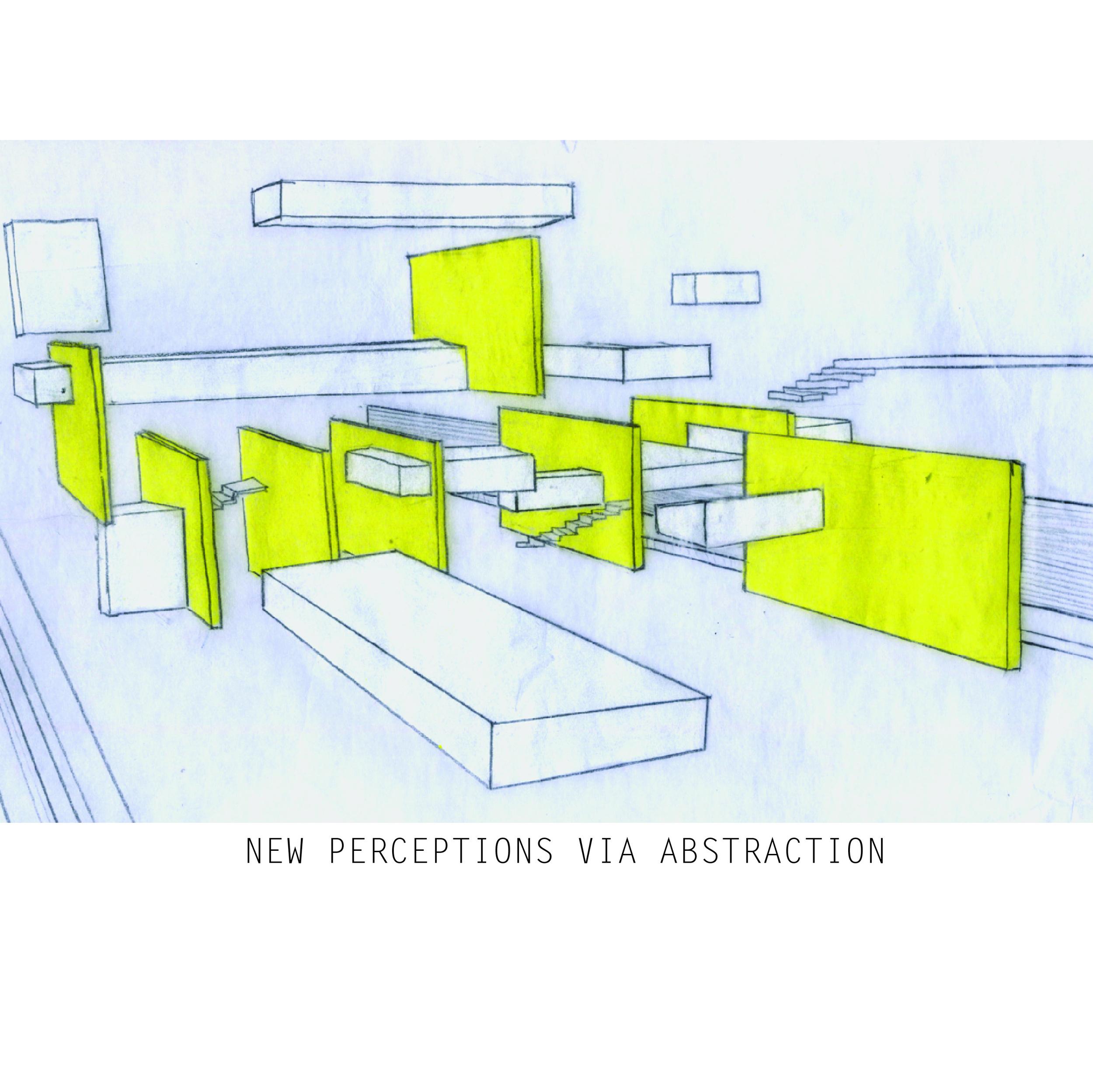 conceptual image: abstraction via explosion