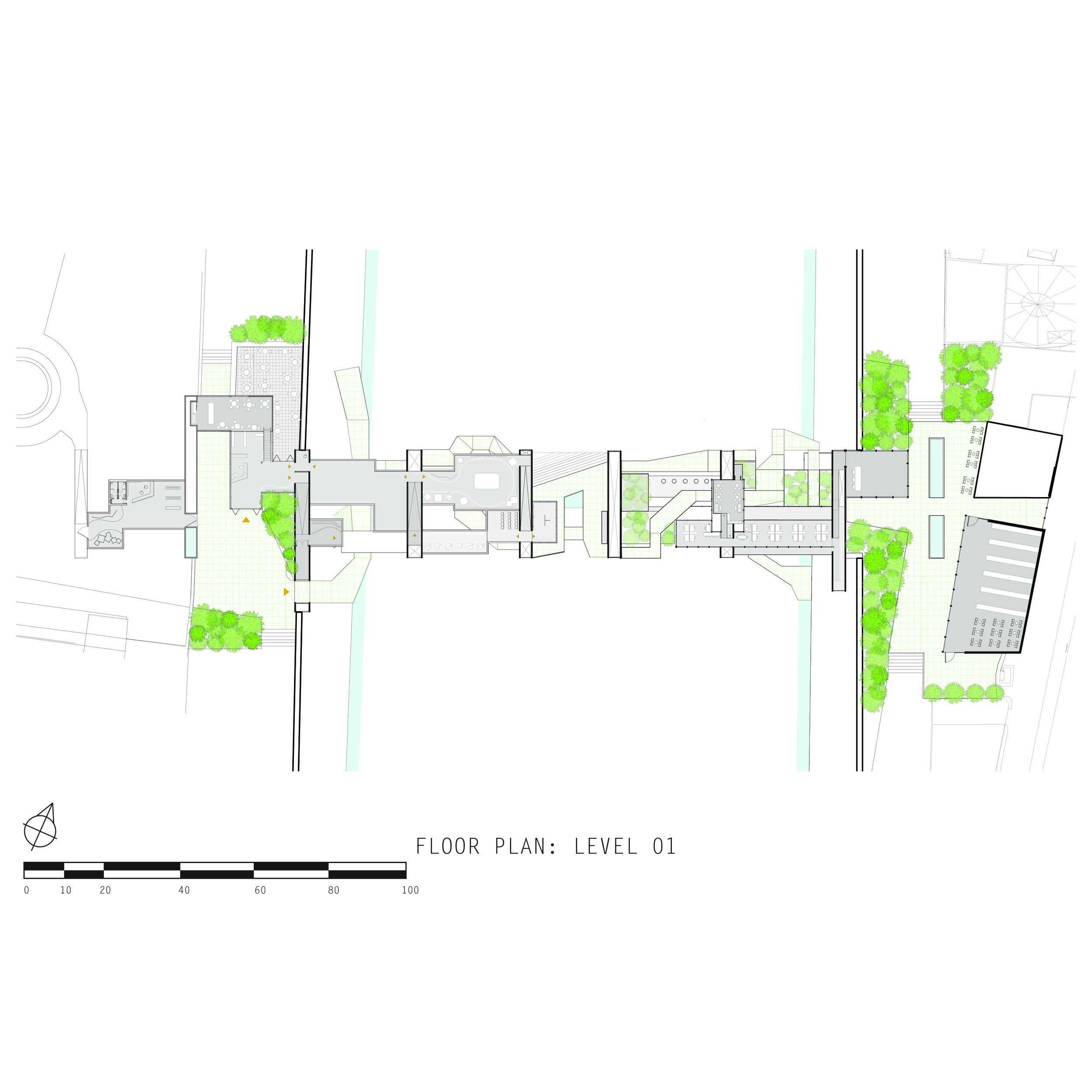 floor plan: level 01 (level of city)