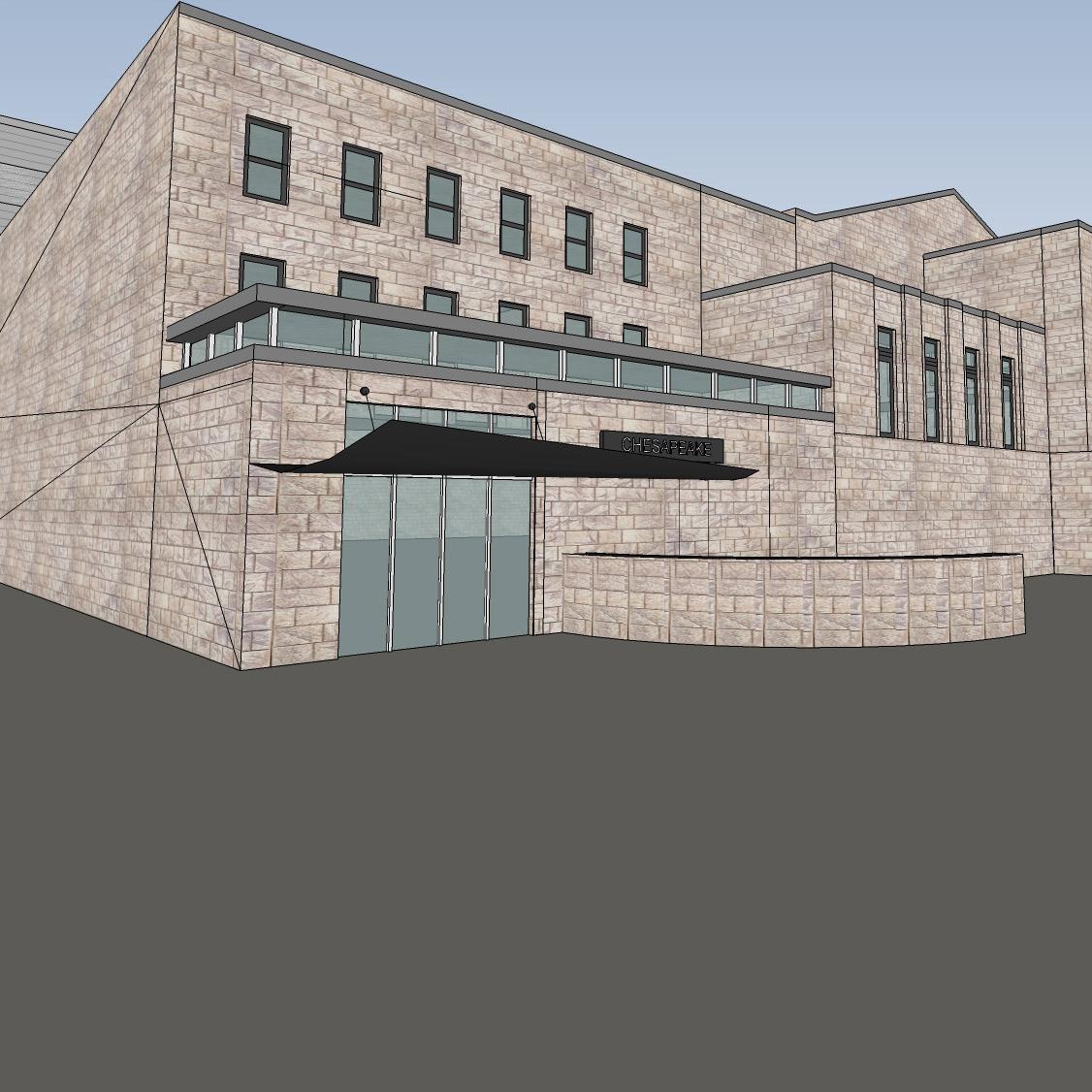 design proposal (Towson Armory)