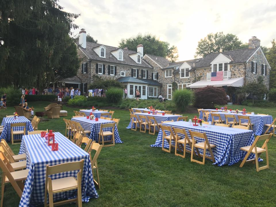 We celebrated our nation's independence at a beautiful backyard party complete with Jimmy's Barbecue, an amazing live band, bonfire, and ice cream truck!