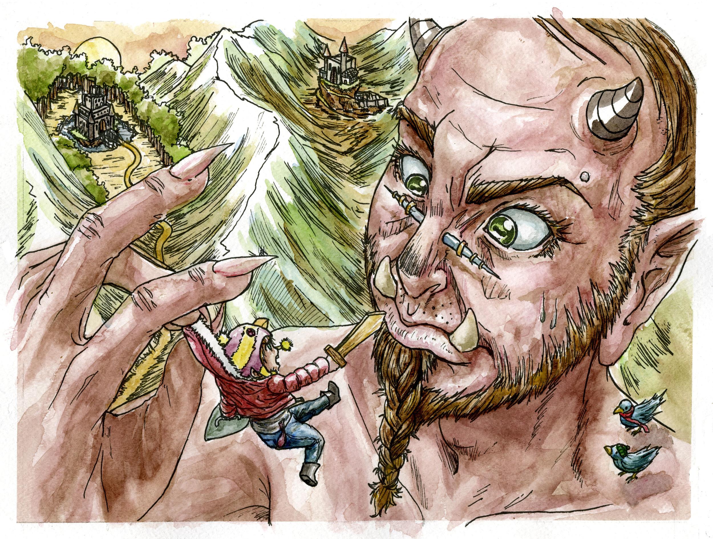 """The Little Ogre Faun Giant"""