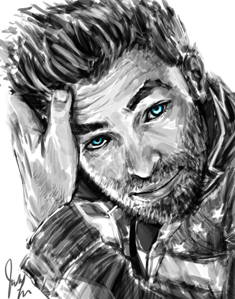 Chris Pine (Portrait)