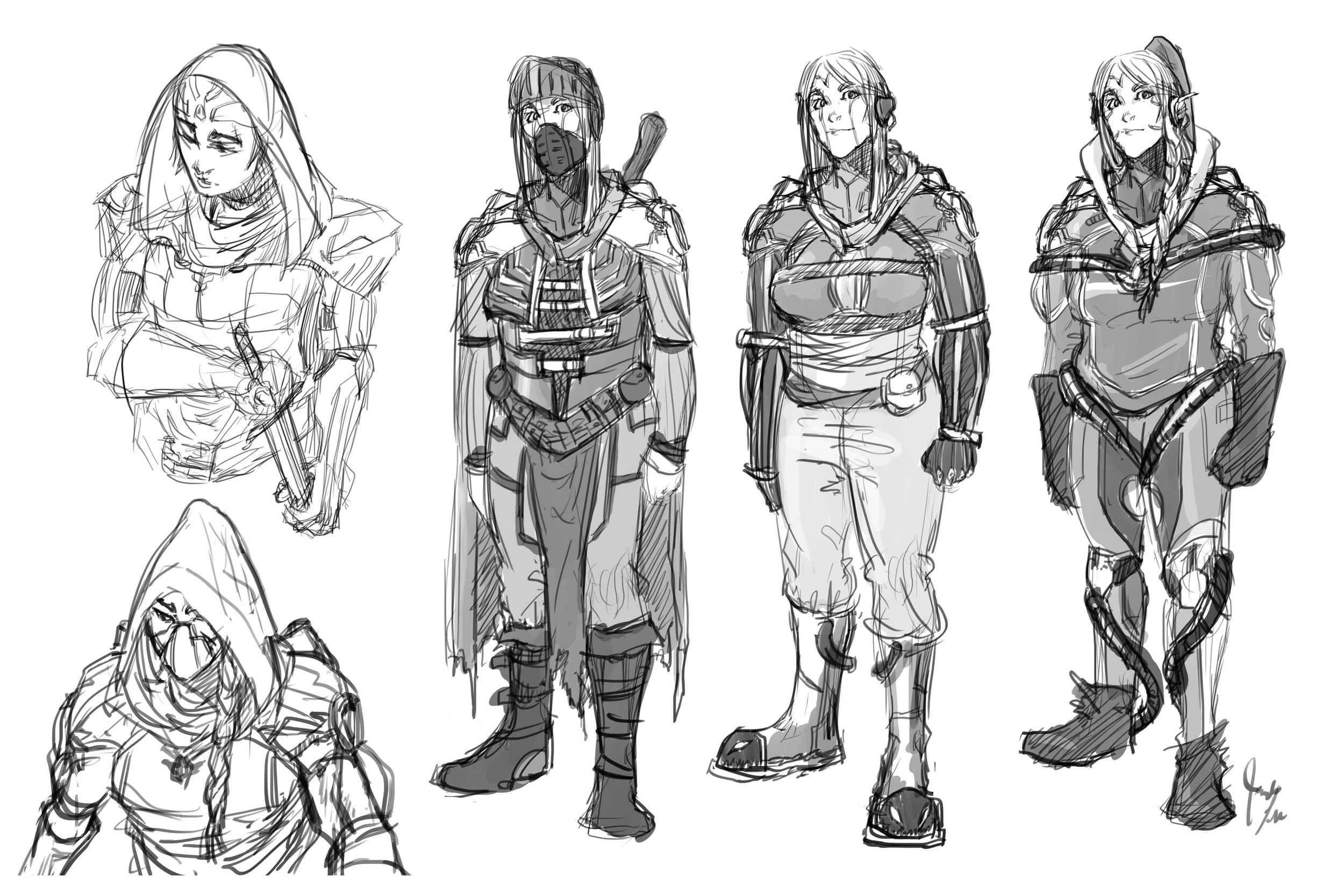 Tank (Character Design)