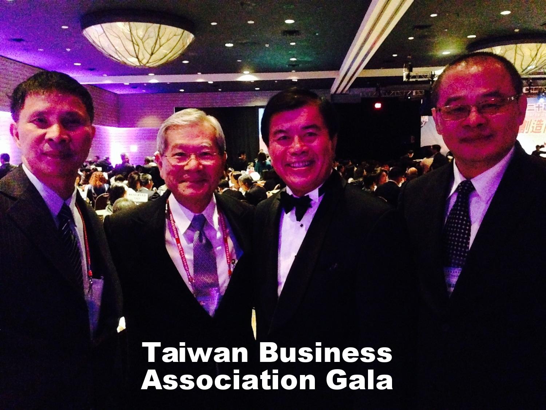 David Wu at Taiwan Business Association Gala