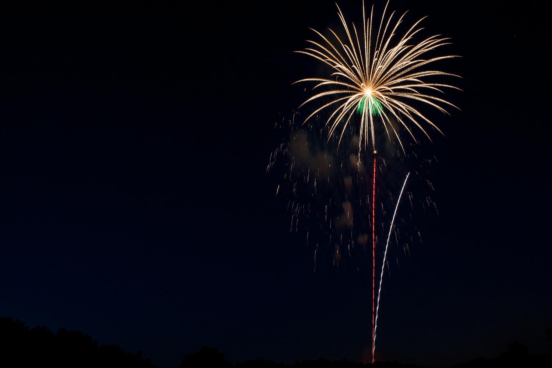 Fireworks by Steve Leath