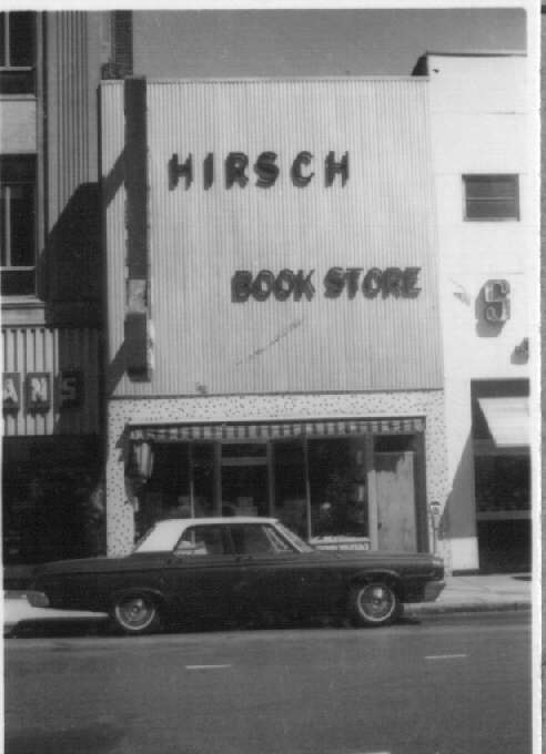 Historic Photo of Hirsch Book Store