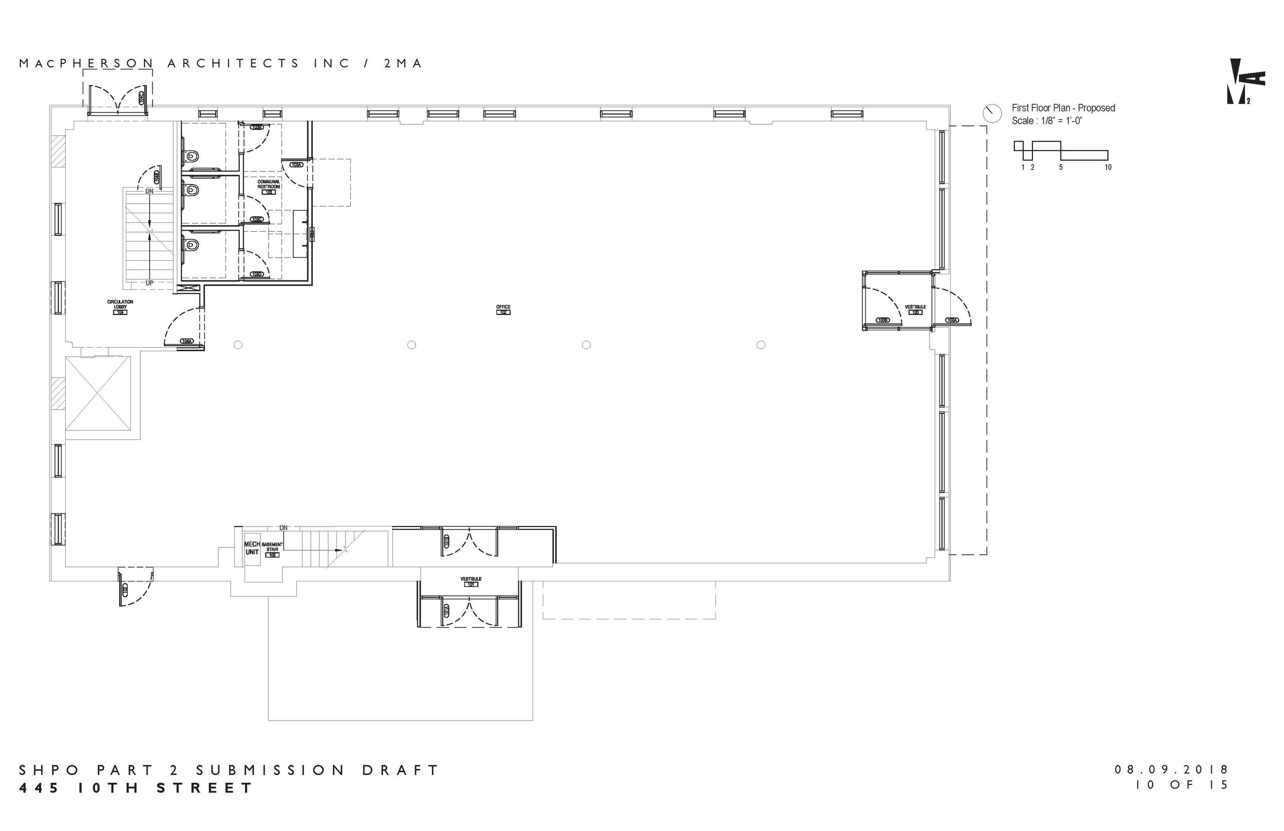 The Andrus Building - 1st Floor Plans