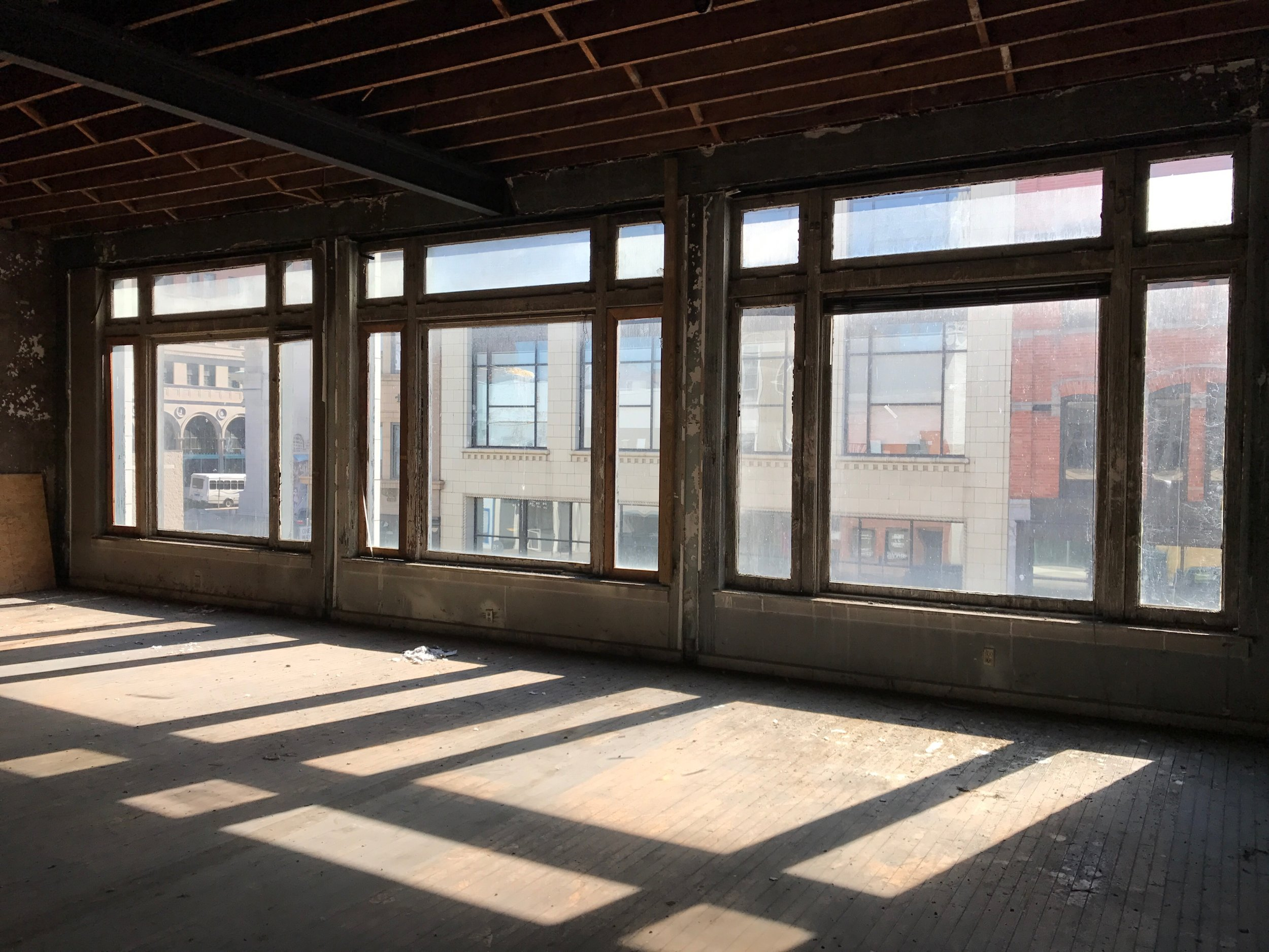 Offering beautiful views on Adams Street in downtown Toledo