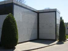 Mt. Lebanon Cemetery burial wall