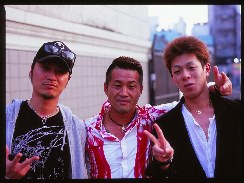 Ichiro and friends (Mamiya 645, Velvia 100)