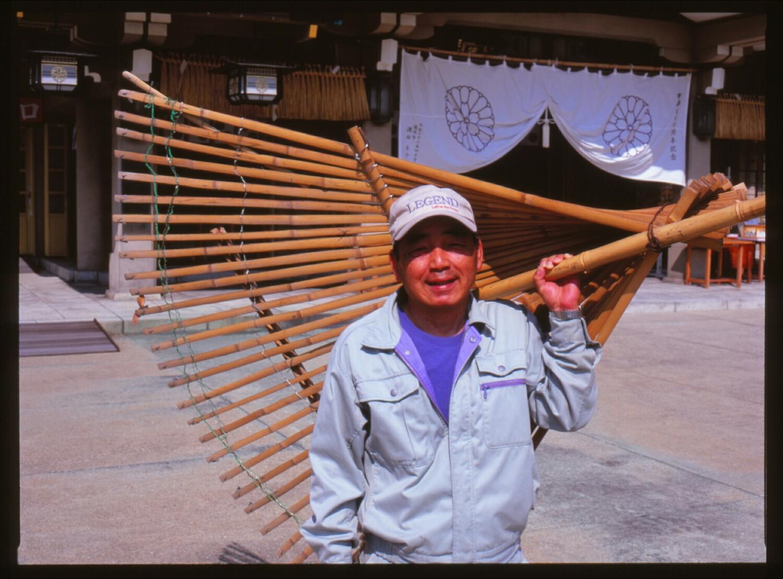 Biggest rake ever! (Mamiya 645, Provia 100)