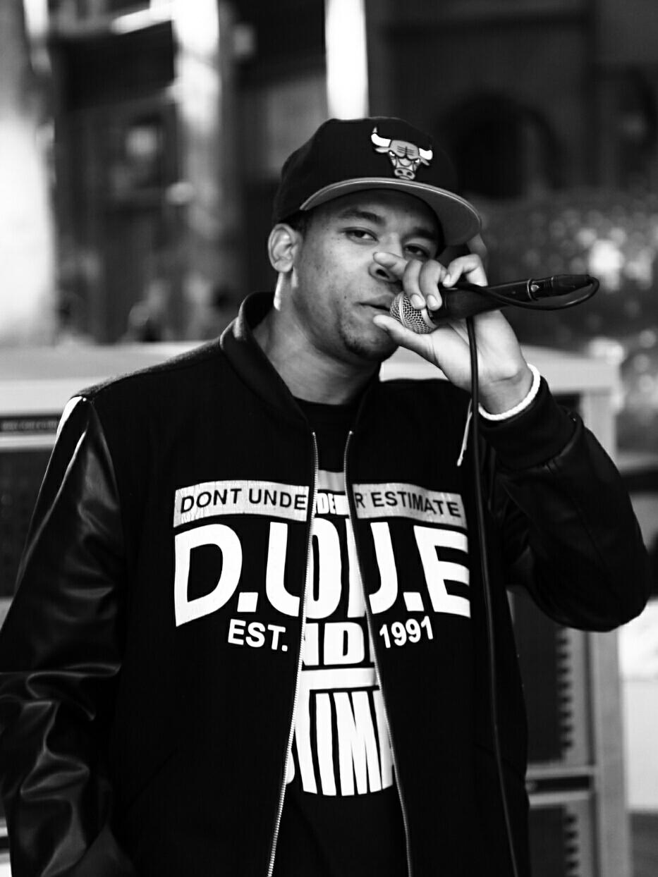 B'ham hip hop street performer (Canon 6D)