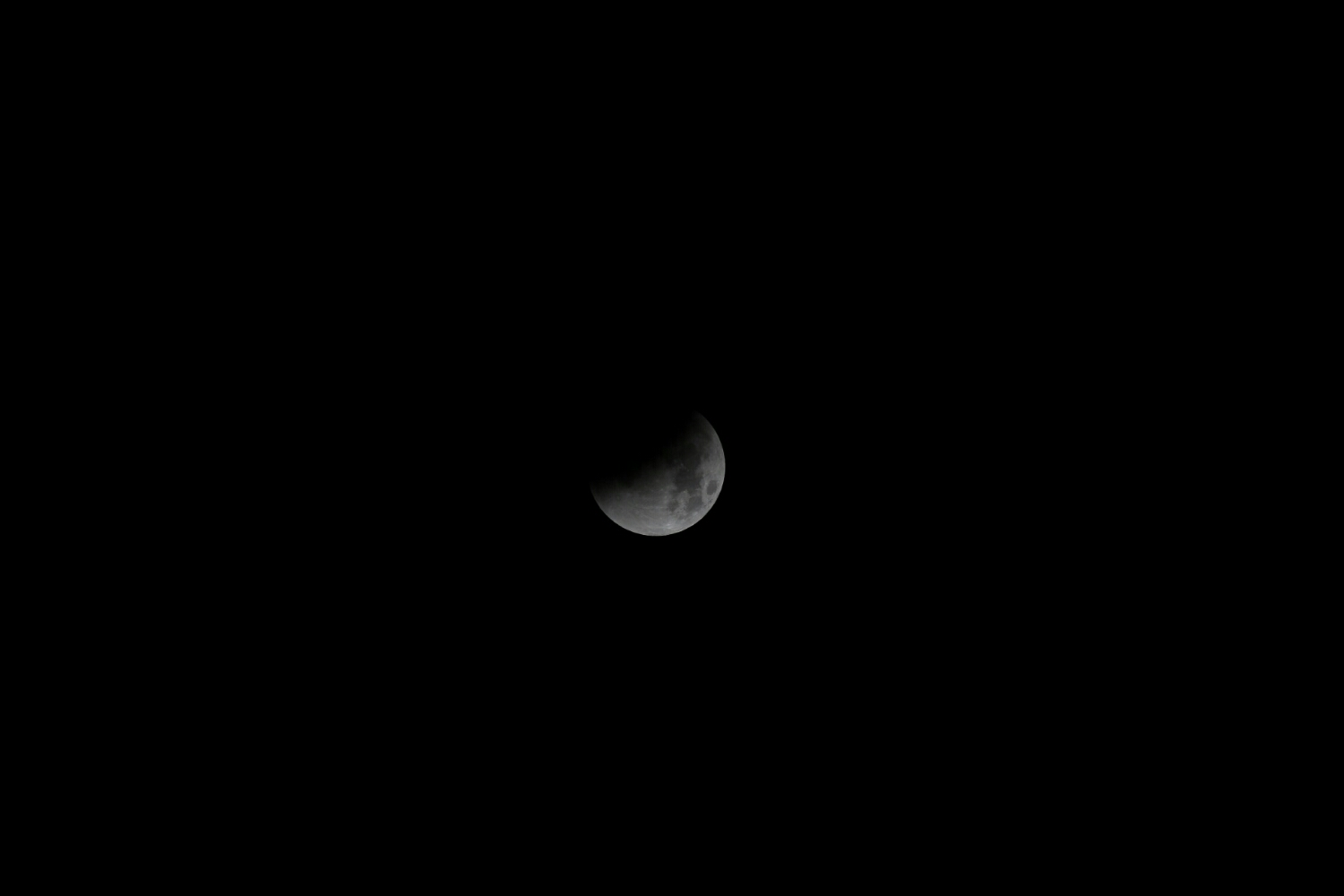 uncropped eclipse at 400mm on Canon 6D