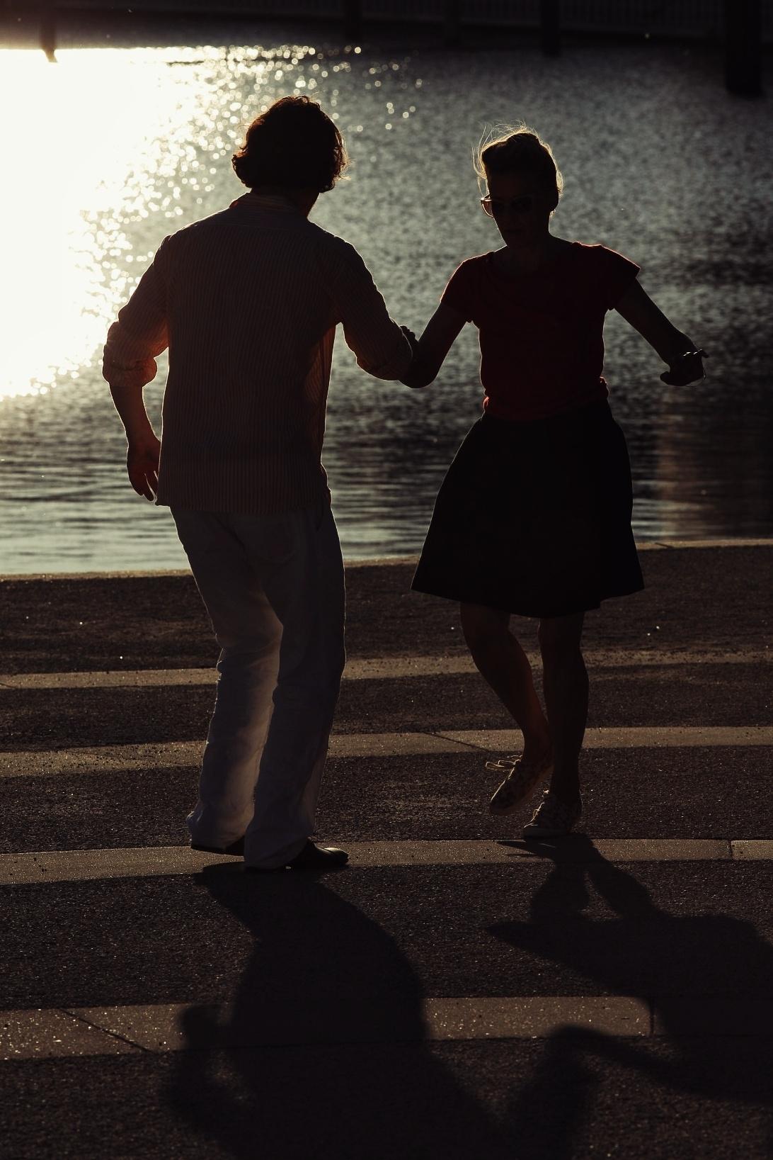 Dancing on the sun