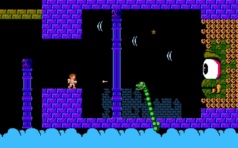 Kid Icarus,  Nintendo, 1986