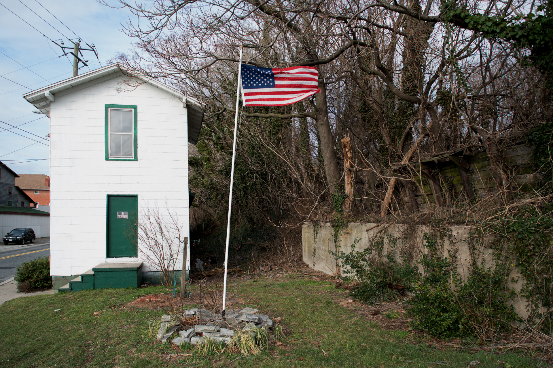 Salisbury, Maryland, 25 miles from Chesapeake Bay