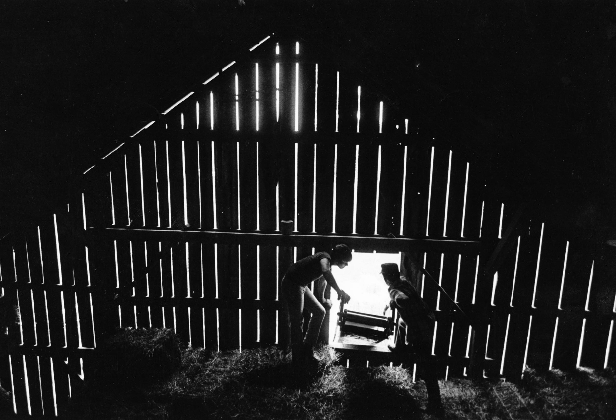 The Haas farm near Rolla, Missouri, 1975. Photograph by Bill Marr